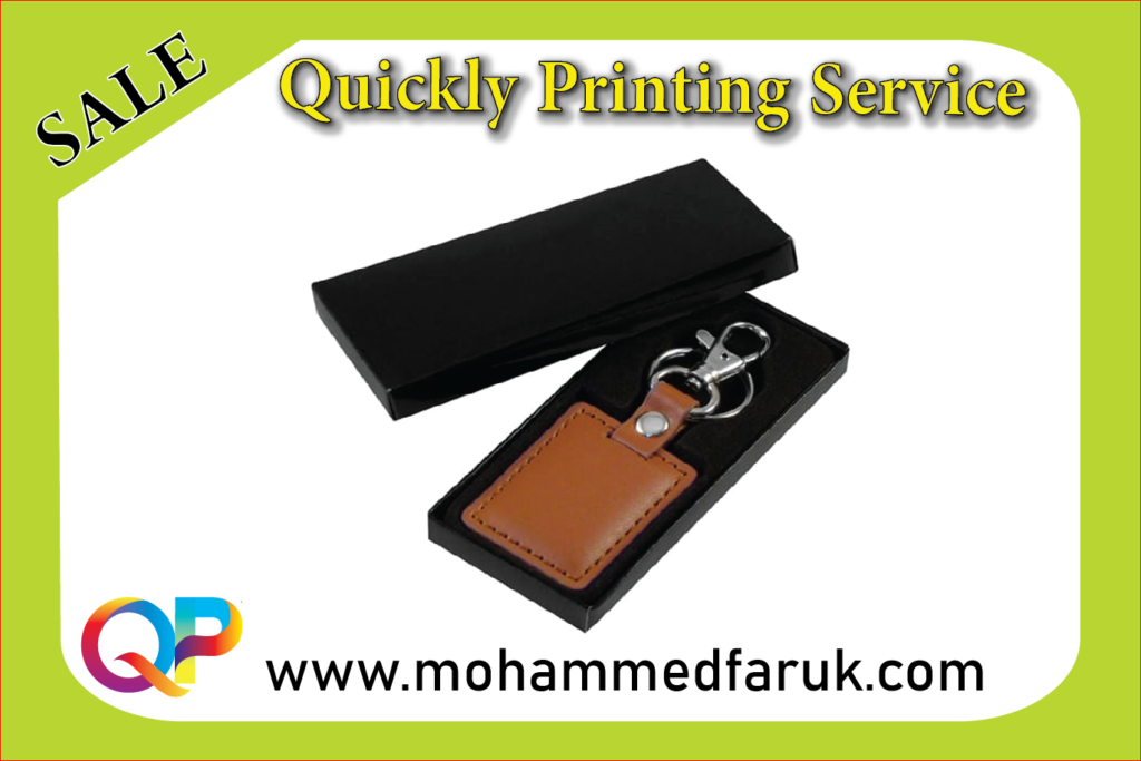 Metal & Leather Keychain Printing   Mohammed Faruk
